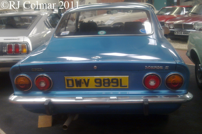 Opel Manta S, Atwell Wilson MM