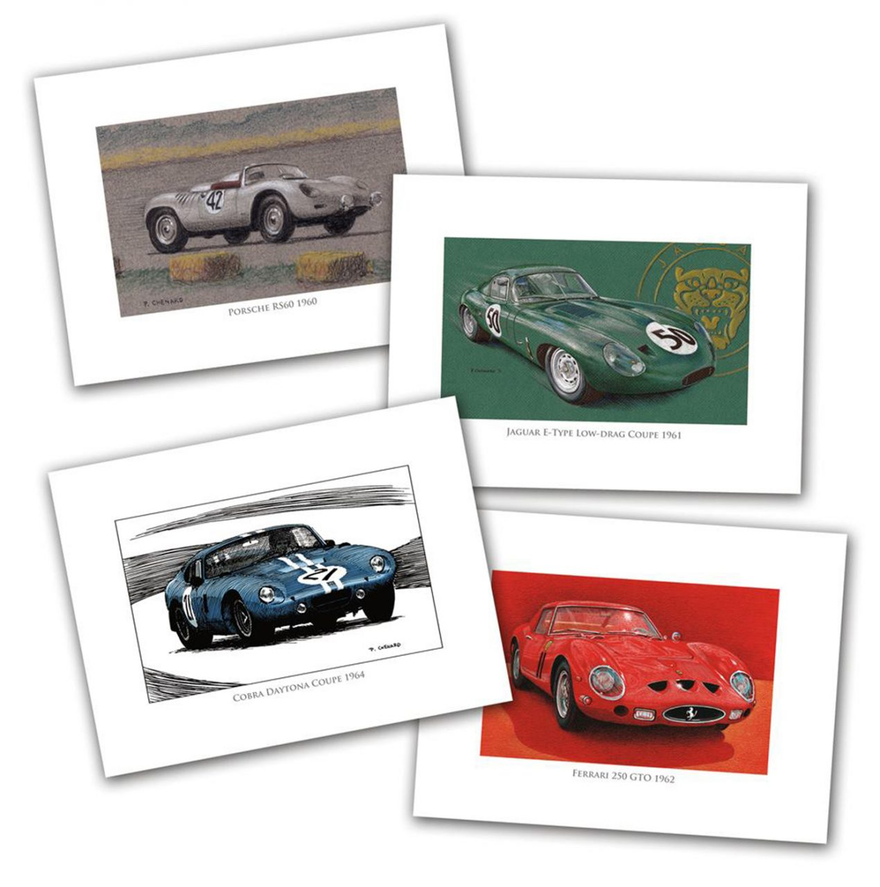 Sports-GT cars set, Paul Chenard