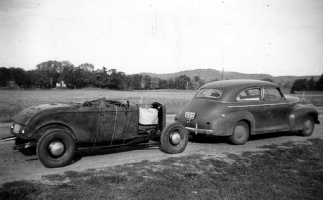 '32 Roadster, 41 Chevrolet