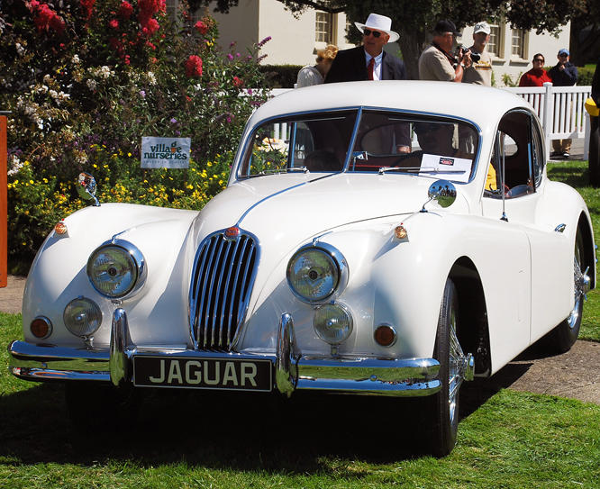 Jaguar XK 140 FHC SE/MC, SF Presidio C d'E