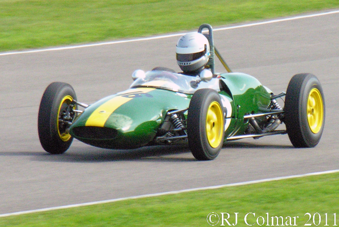 Cristoph Burckhardt, Lotus 22, Goodwood, Revival