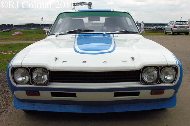 Ford Capri 3000 GLX, Silverstone Classic