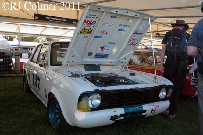 Ford Cortina MK2, Goodwood Revival
