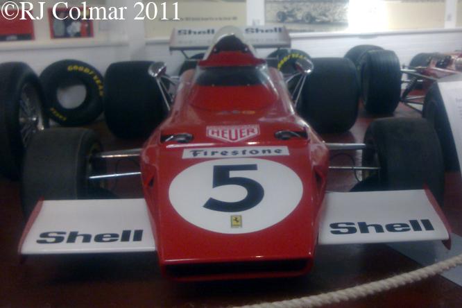 Ferrari 312 B2, Donnington Museum