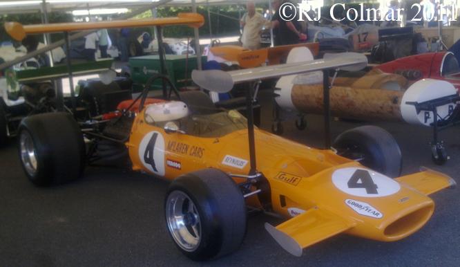 McLaren M7 C, Goodwood FoS