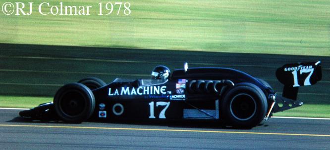 Vollstedt Offy, Silverstone, 1978