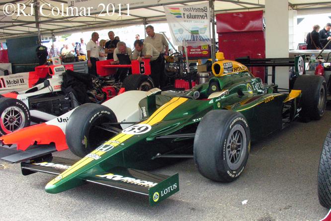 Dallara Honda, Goodwwod FoS