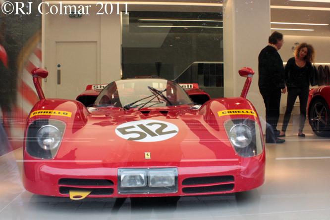 Ferrari 512 S, HR Owen London
