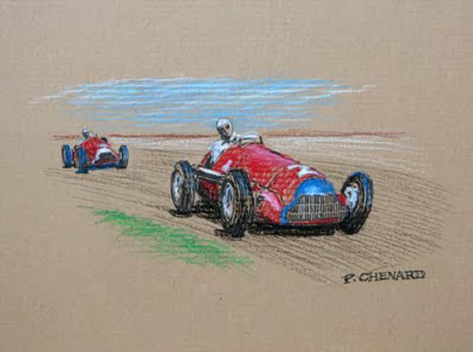 ALFA Romeo 158, Paul Chenard