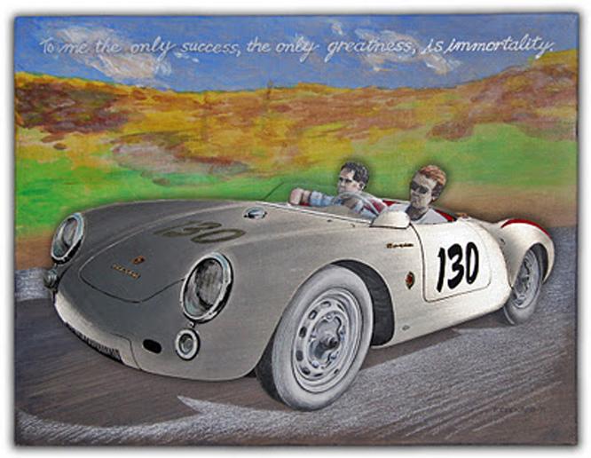 Porsche 550 Spyder, Paul Chenard