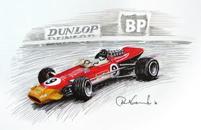 Lotus 49B, Paul Cheynard