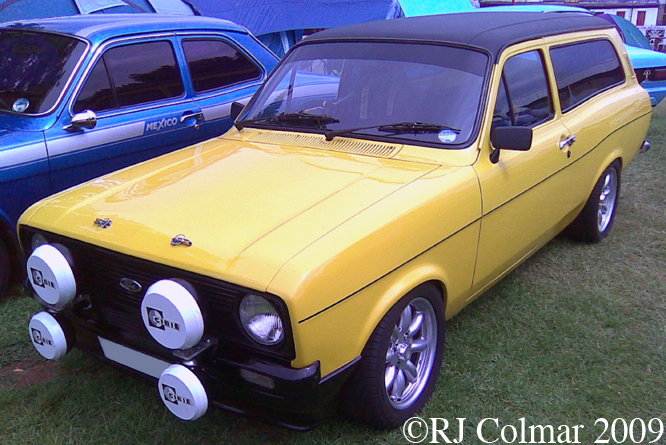 Ford Escort 1300L, Castle Combe
