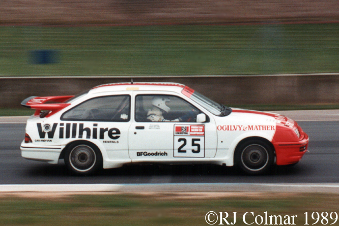 Ford Sierra RS Cosworth, Donington