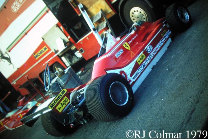 Ferrari T4, Silverstone