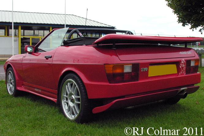 TVR 400 SE, Castle Combe