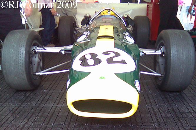 Lotus 38, Goodwood Revival