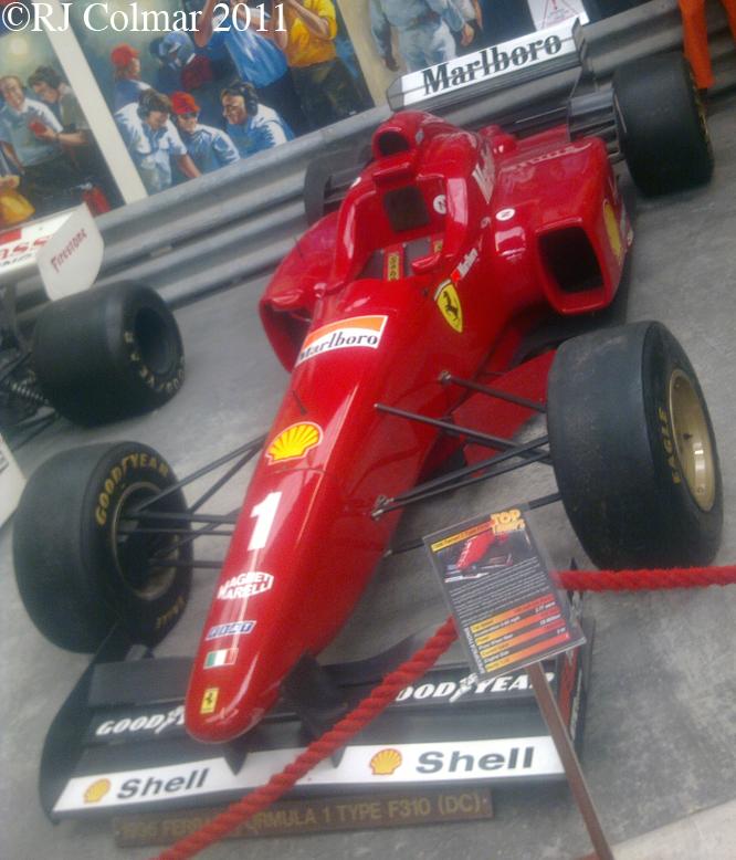 Ferrari F310, Haynes IMM