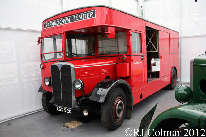 AEC Regent One, Brooklands