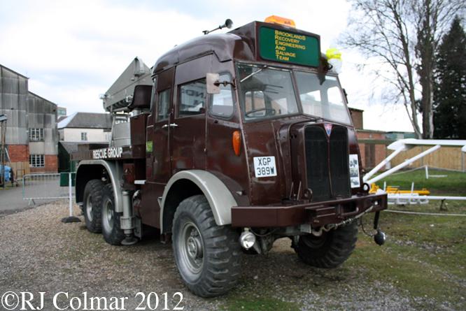 AEC Militant Mk 1, Brooklands