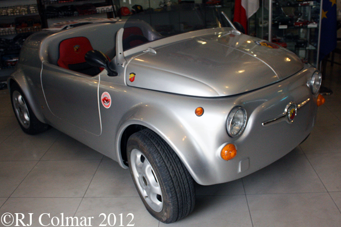 Fiat 500 Roadster, Malta Cassic Car Collection