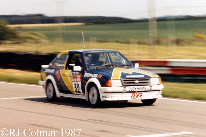 Ford Escort RS Turbo, Snetterton