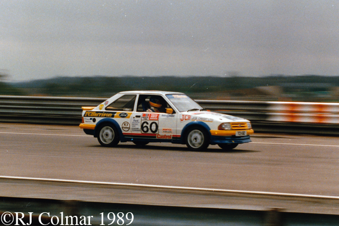 Ford Escort RS Turbo, Silverstone