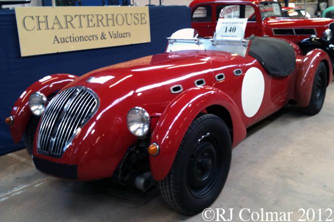 Healey Silverstone Replica, Bristol Classic Car Show