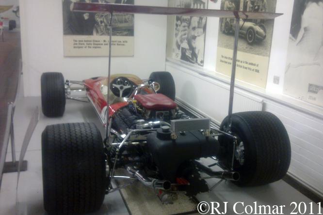 Lotus 49B, Donington Park Museum