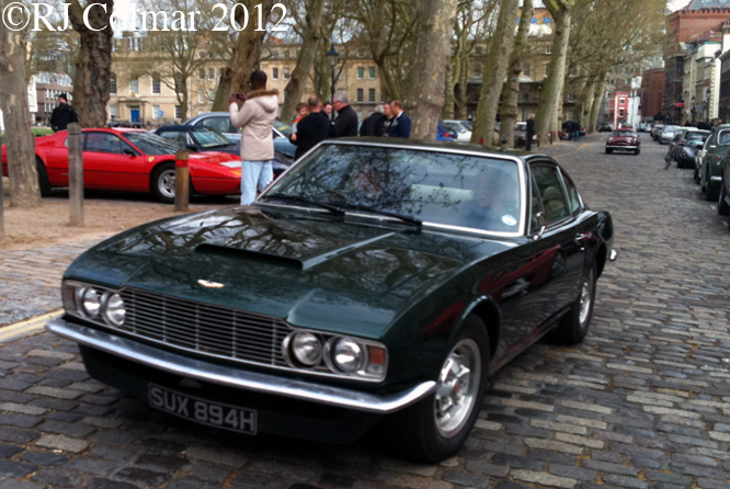 Aston Martin DBS, Avenue Drivers Club, Queens Sq, Bristol