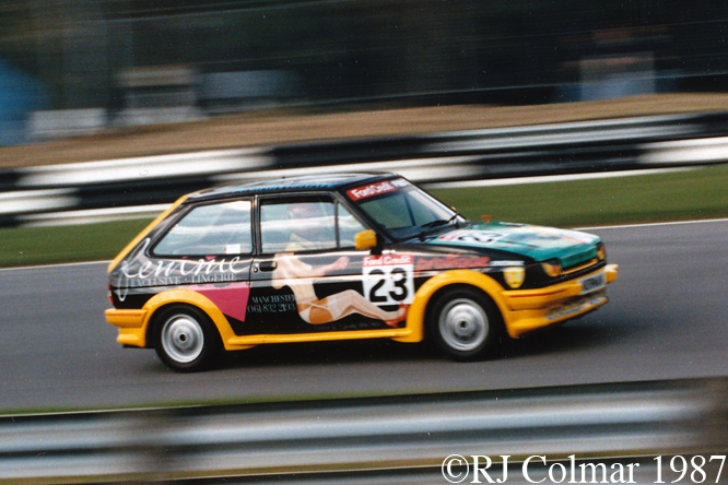 Ford Fiesta XR2, Brands Hatch