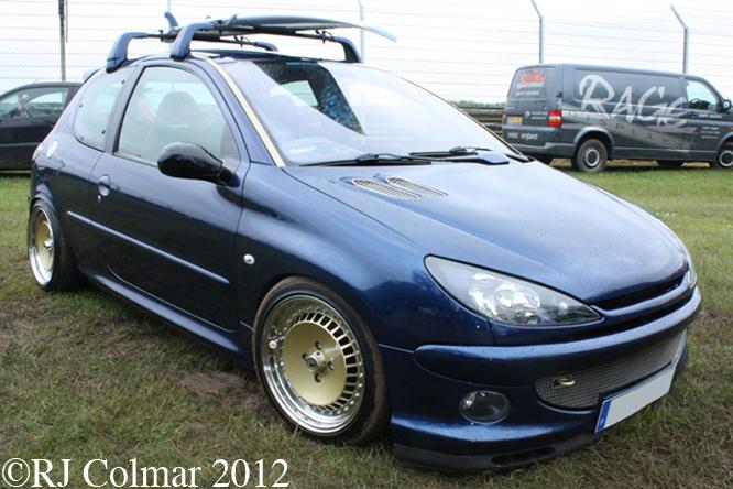 Peugeot, 206 GTI, HDI, Castle Combe, SPCAD