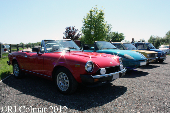 FIAT 124, barchetta, 128 3P, 500, 500 Abarth, Middle Barton Garage