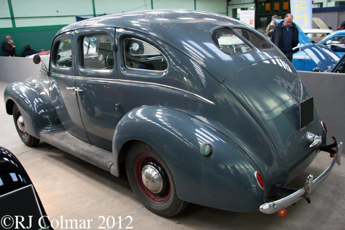 Ford V8 30 Saloon, Bristol Classic Car Show