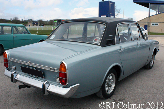 Ford Corsair 2000E, Bristol Classic Car Show