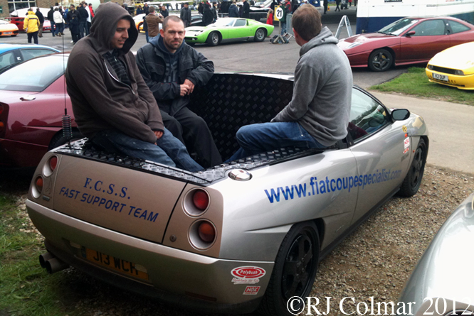 FIAT Coupé Pick Up, Auto Italia Brooklands