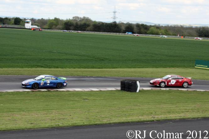 750MC Toyota MR2, MTVL, Castle Combe, Race 7