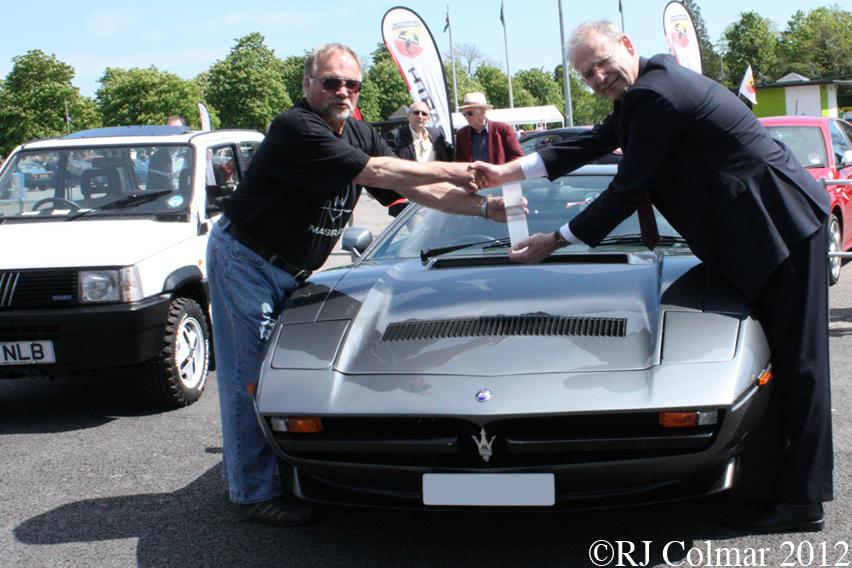 Maserati Merak, Simply Italian, NMM Beaulieu