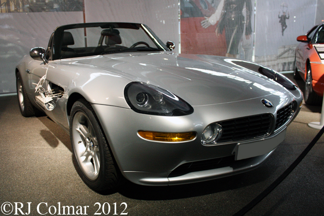 BMW Z8, The World Is Not Enough, Bond In Motion, Beaulieu