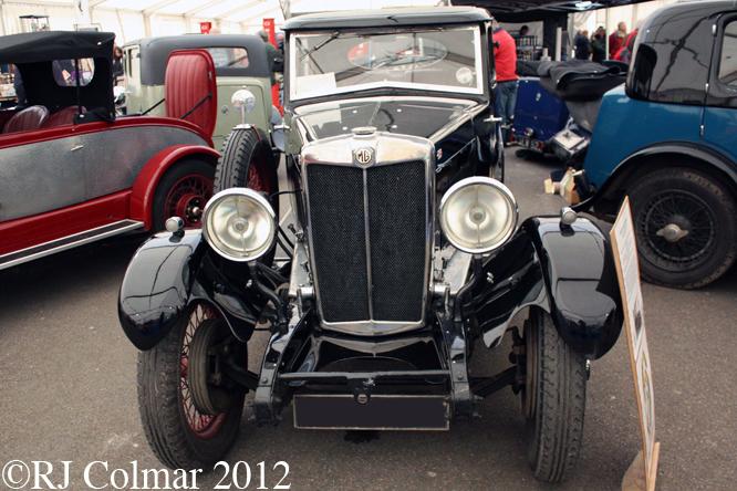 MG 18/80 Six Salonette MkI, Bristol Classic Car Show
