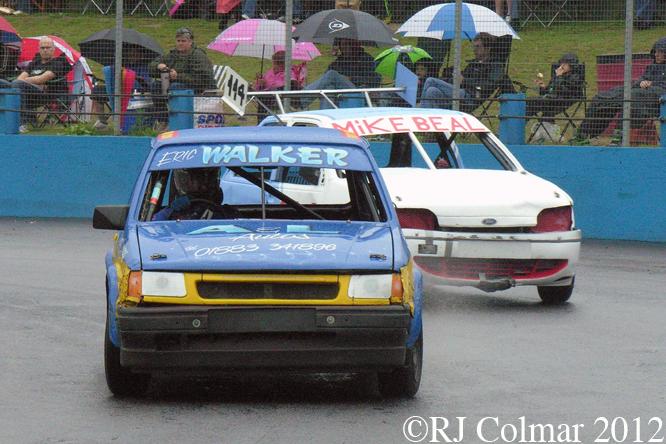 Vauxhall Nova, Ford Fiesta, Aldershot, Raceway