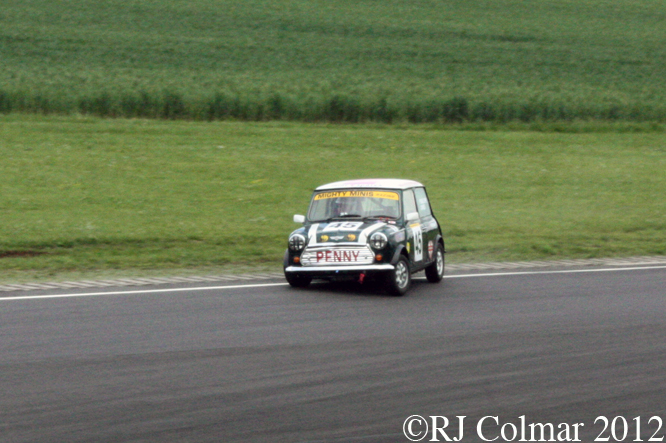 Mighty Mini, Penelope Jones, Jubilee Race Day, Castle Combe
