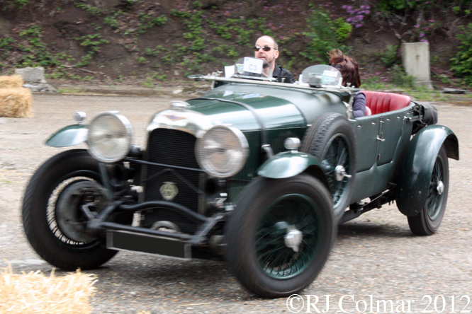 Lagonda 2 litre, Brooklands, Double Twelve