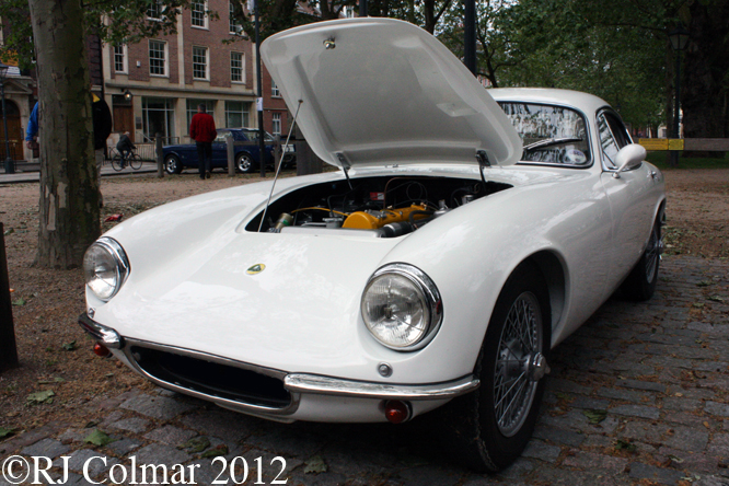 Lotus Elite, Avenue Drivers Club, Queens Square, Bristol