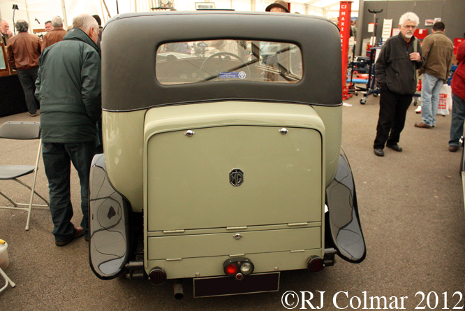 MG 18/80 Six Mk 1, Bristol Classic Car Show