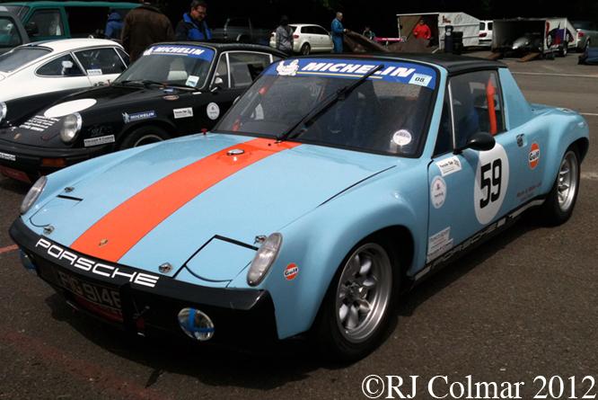 Porsche 914/6, Dick Mayo Sprint, Castle Combe