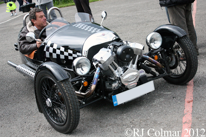 Morgan 3 Wheeler, Dick Mayo Sprint, Castle Combe