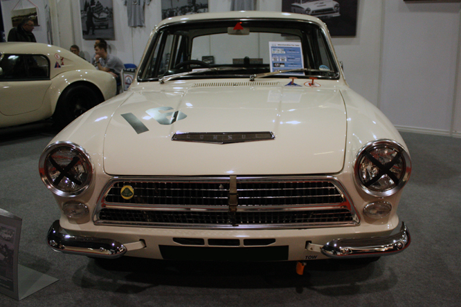 Ford Consul Cortina by Lotus, Race Retro