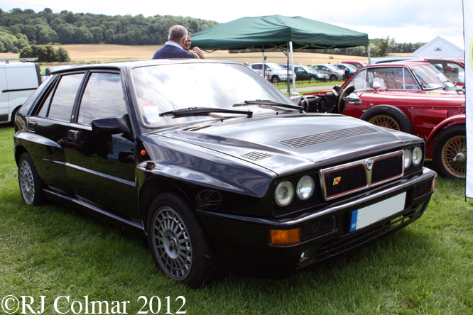 Lancia Delta Integrale, Classics at the Castle, Sherborne Castle
