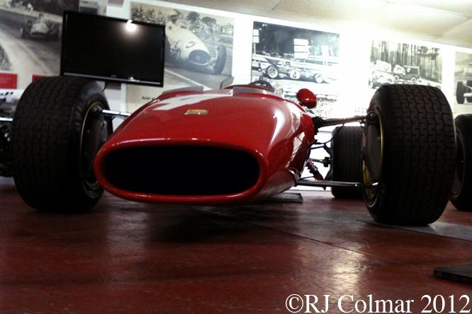 Ferrari, Dino, 166/246, Donington Museum