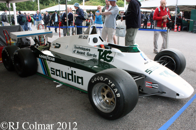 Williams FW08B, Goodwood Festival of Speed